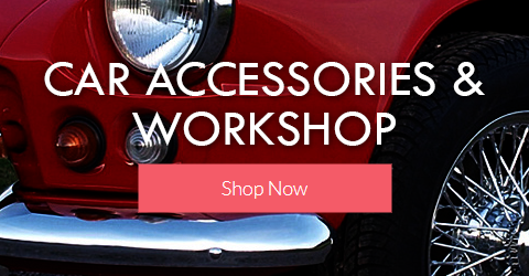 Car Accessories & Workshop Promo